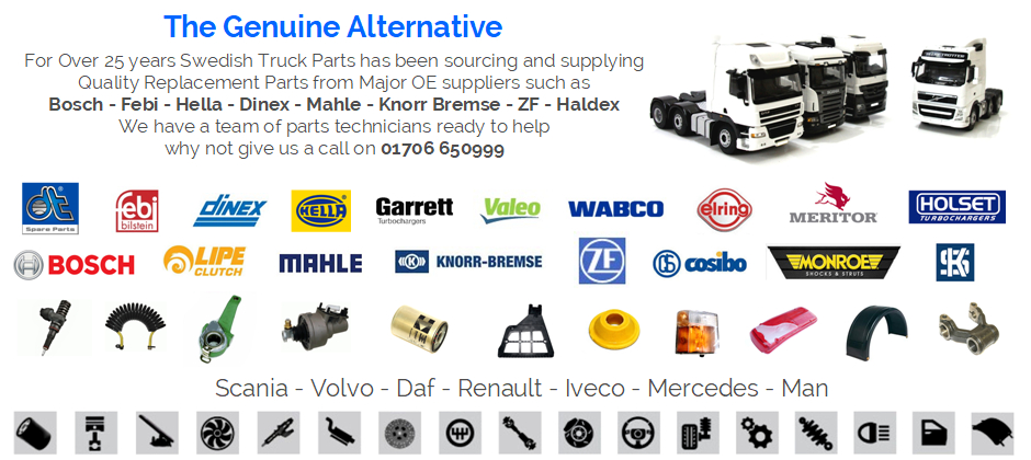 Scania Parts Volvo Parts Daf Parts Renault Parts Iveco Parts Man Parts On-Line Shop Genuine
