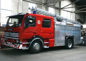 Archie Houliston Scania 82 Fire Engine