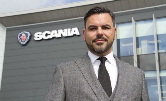 Vincente Connolly appointed UK Sales Director for Scania (Great Britain) Limited